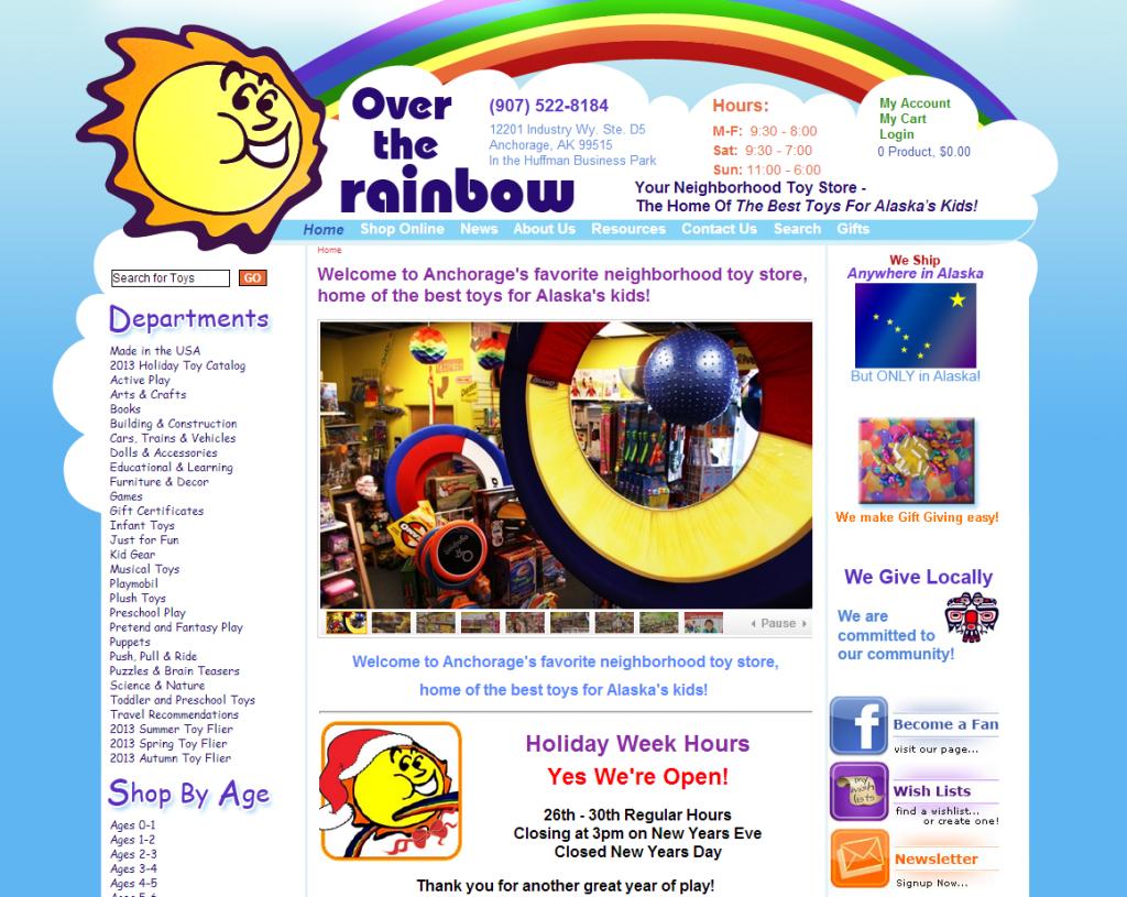 over the rainbow
