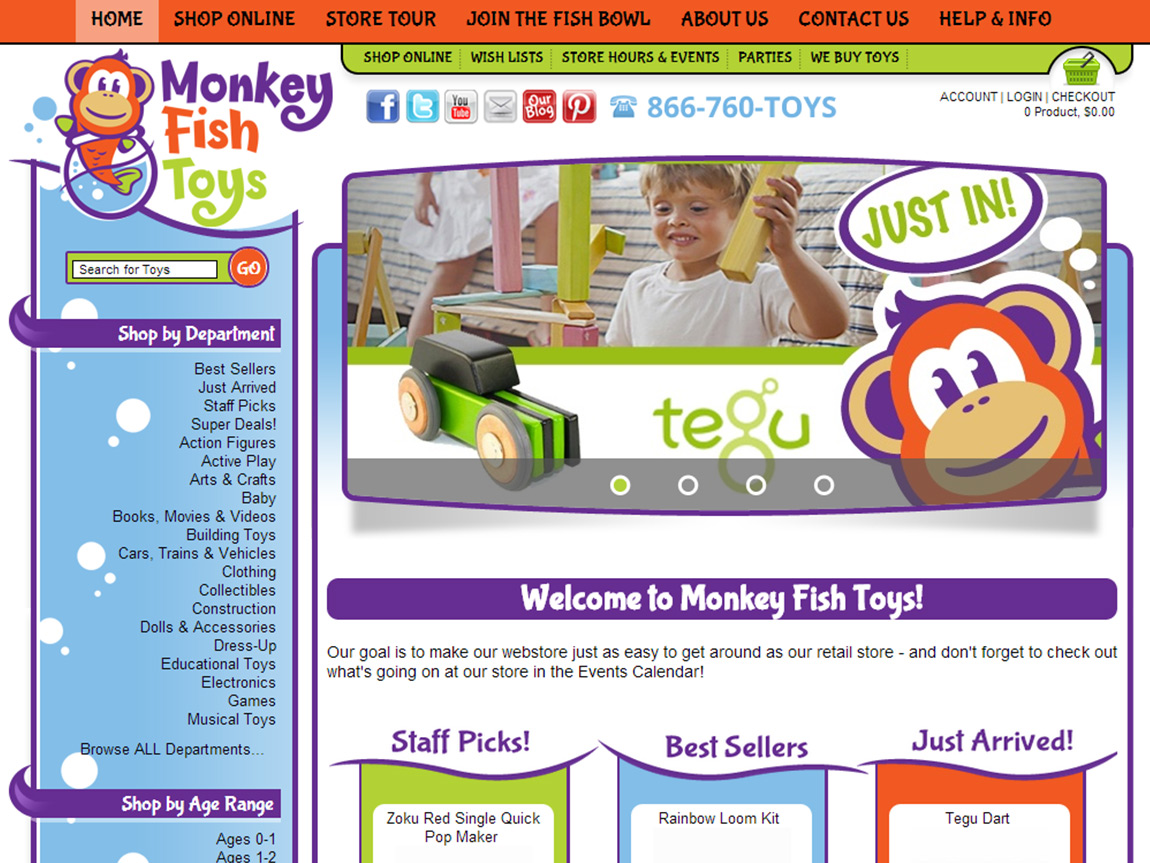 Specialty toy stores sex nurse local for Monkey fish toys