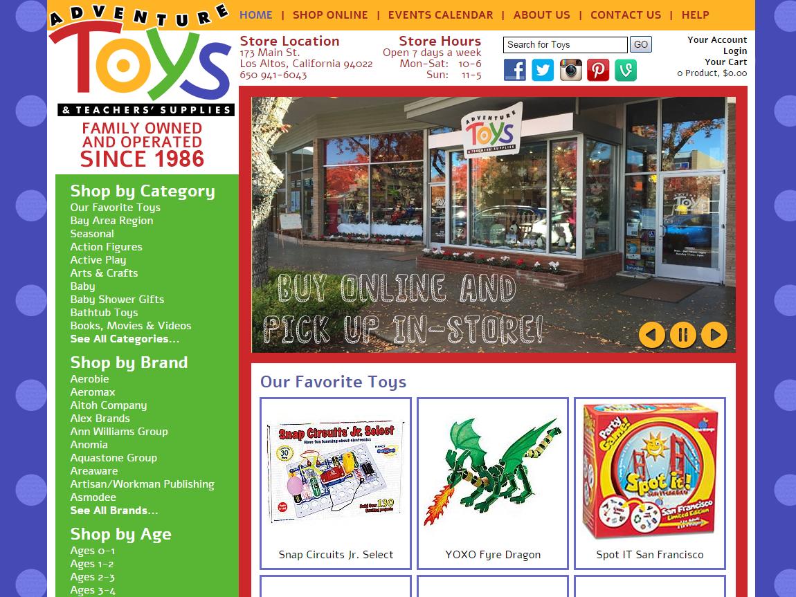Adventure Toys Los Altos California