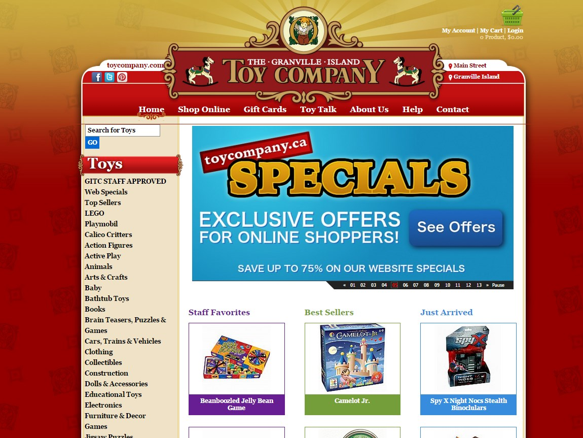 granville island toy company