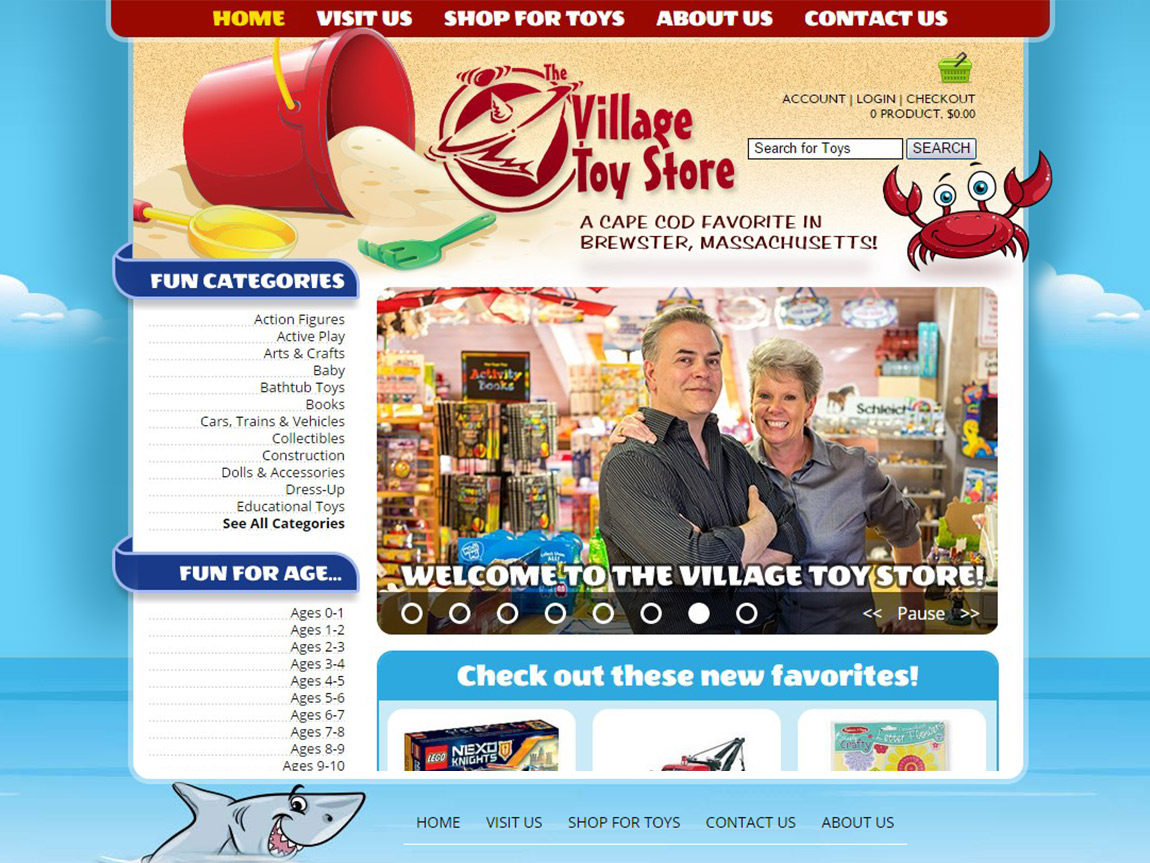 Village Toy Store in Brewster, MA