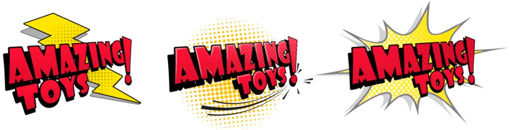 amazing toys logo designs services