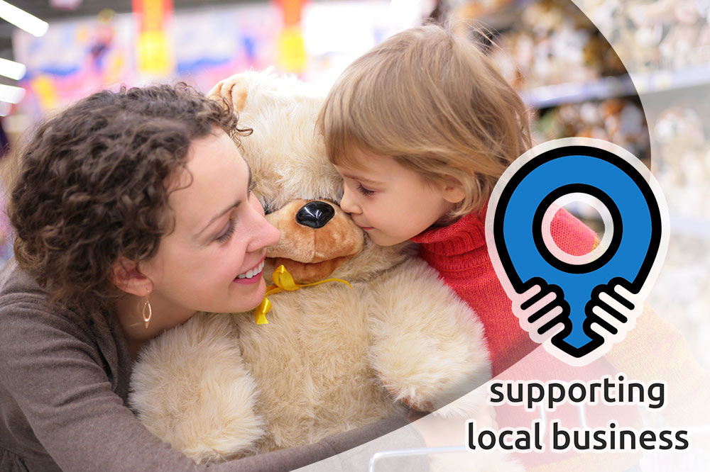 shop local supporting small businesses